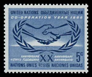 United Nations - New York 143 Mint (NH)