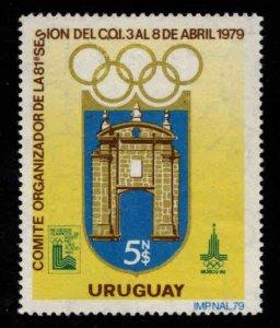 Uruguay Scott 1019 MNH** Olympic stamp