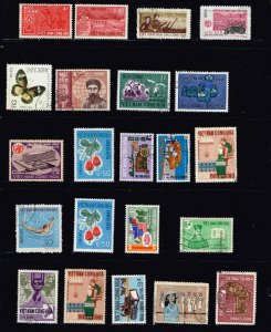 VIETNAM STAMP COLLECTION LOT  #M2