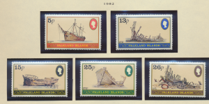 Falkland Islands Stamps Scott #339 To 343, Mint Never Hinged - Free U.S. Ship...