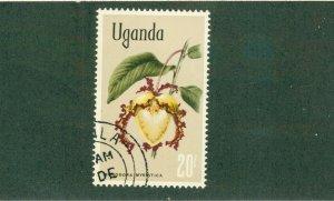 UGANDA 129 USED BIN$ 1.25