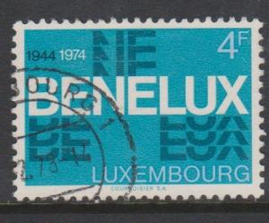 Luxembourg Sc#553 Used