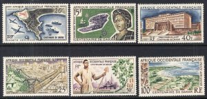 French West Africa C22-C27 MNH VF