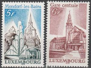 Luxembourg #622-3  MNH F-VF (SU6607)