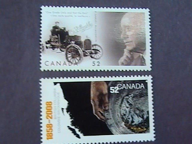 CANADA # 2283-2284--MINT/NEVER HINGED----SINGLES----2008