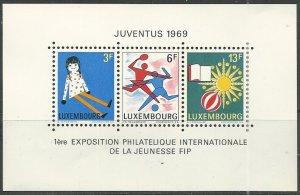 Luxembourg ---  Scott # 474 - MH (s/s)