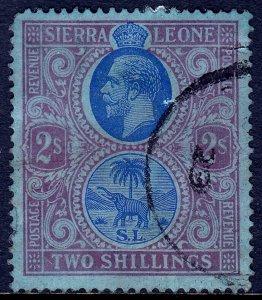 Sierra Leone - Scott #135 - Used - Faults - SCV $11.50