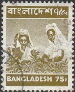 Bangladesh, #101 Used  From 1976-77
