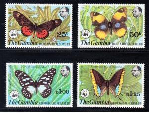 Gambia Scott 404-407 Mint NH (Catalog Value $102.50)