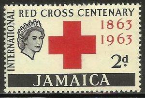 Jamaica 1963 Scott# 203 MH