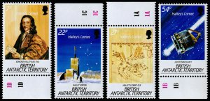 British Antarctic Territory Scott 117-120 (1986) Mint NH VF Complete Set C
