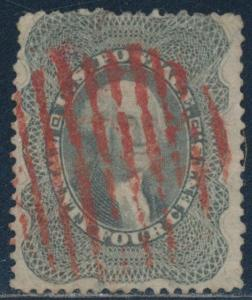 #37 VF USED WITH RED GRID CANCEL CV $465 BT4829