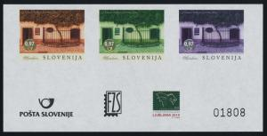 Slovenia new Issue Proof sheet MNH Grapevines