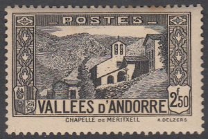 French Andorra 59 MLH (see Details) CV $9.75