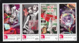 Singapore 2000 Sc 918 New Millenium MNH