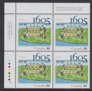 2115 2005 Port Royal Plate Block MNH