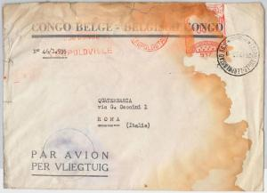 Congo Belge / Belgian Congo POSTAL HISTORY - COVER with nice MECHANICAL POSTMARK