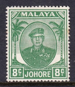 Malaya (Johore) - Scott #137 - MH - SCV $7.50