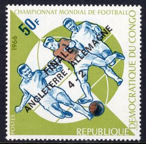 Congo Democratic Republic 589B Soccer MNH VF