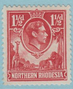 NORTHERN RHODESIA 29  MINT HINGED OG * NO FAULTS VERY FINE!