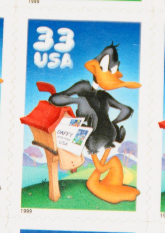 1999 sheet Daffy Duck Sc# 3306