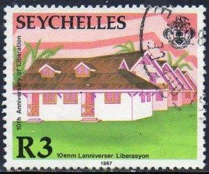 Seychelles 1987 3r Orphanage used