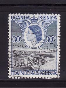 Kenya, Uganda, Tanzania 108 Queen Elizabeth II, Dam (C)