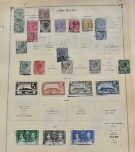 GIBRALTAR OLD COLLECTION DR SCHULTZ ESTATE MINT AND USED Z715