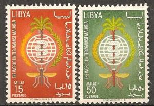 Libya #218-9 Mint Never Hinged VF  (ST297)