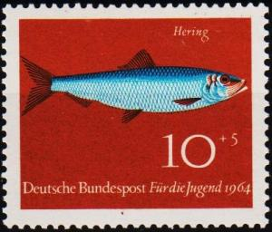 Germany. 1964 10pf+5pf S.G.1326 Unmounted Mint
