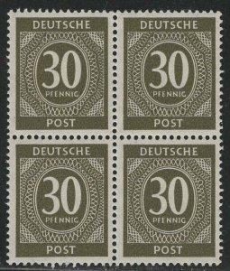 Germany AM Post Scott # 547, mint nh, b/4