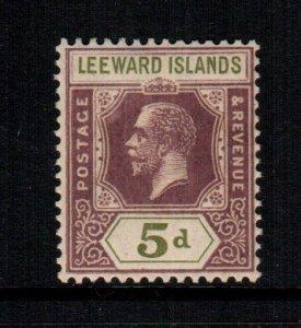 Leeward islands  74  MNH cat $ 5.50 9999