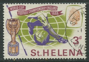 STAMP STATION PERTH St Helena #188 World Cup Soccer 1966 VFU