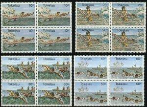 TOKELAU Islands #73-76 Postage Stamp Set 1980 Mint NH OG