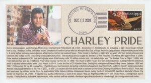 6° Cachets 5190 Charley Pride country music legend Nashville born Mississippi