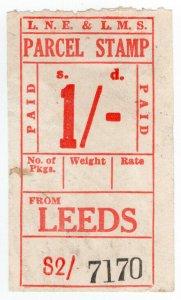 (I.B) London & North Eastern & London Midland & Scottish Railways : Parcel 1/-