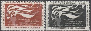 United Nations #57-8   MNH  (K1423)
