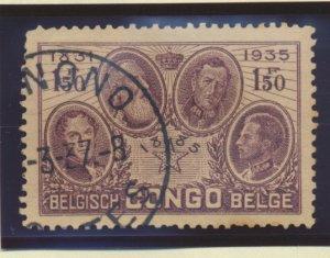 Belgian Congo Stamp Scott #161 And 163, Used