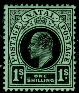 SOUTH AFRICA - Natal SG166, 1s black/green, UNUSED.