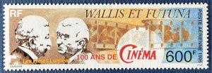 Wallis and Futuna Islands C186 MNH Motion Pictures Centennial (SCV $13.00)