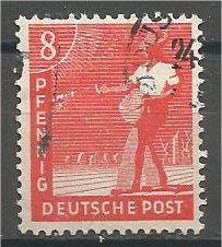 GERMANY, 1947, used 8ph, Sower. Scott 559