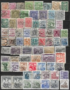 COLLECTION LOT OF 71 AUSTRIA 1890+ STAMPS CLEARANCE