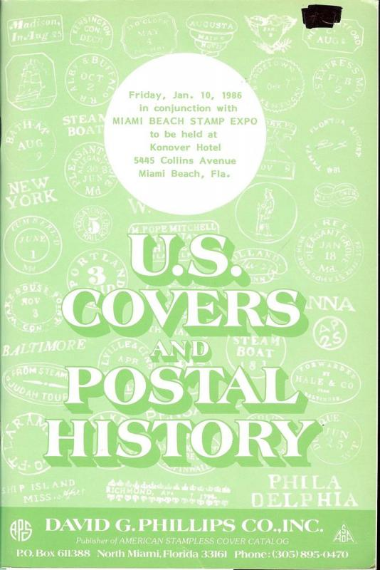 Phillips: Sale #   -  U.S. Covers and Postal History, Phi...