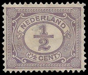 Netherlands #55 1898 Used