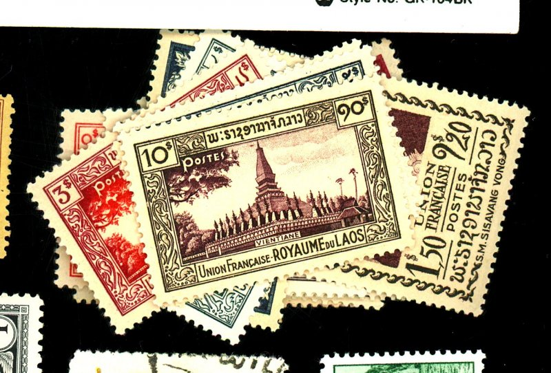 Laos #1-17 MIT VF OG LH Cat$25