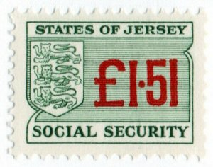 (I.B) Jersey Revenue : Social Security £1.51