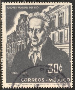 MEXICO 961, 200th Anniv bday Andres M del Rio-Mining School USED. VF. (1211)