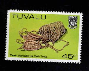 TUVALU Scott 191 MNH**  Handicrafts, Reef Sandals