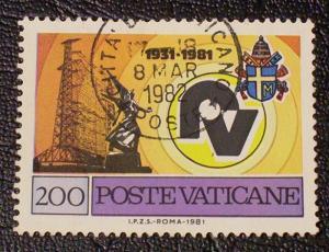 Vatican City Scott #683 used