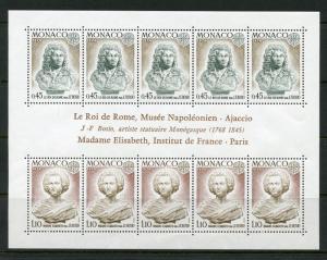 MONACO EUROPA 1974 SHEETLET  SCOTT#904a  MINT NEVER HINGED--SCOTT VALUE $40.00